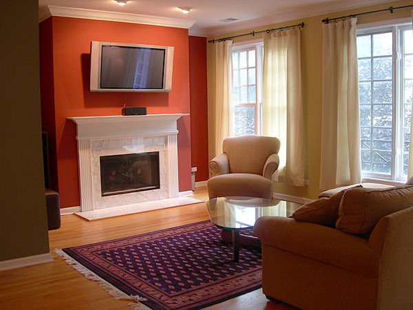 how to pick paint colors for open floor plan